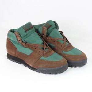 Vtg New Hi Tec Mens 11 Shasta Hiking Boots Brown